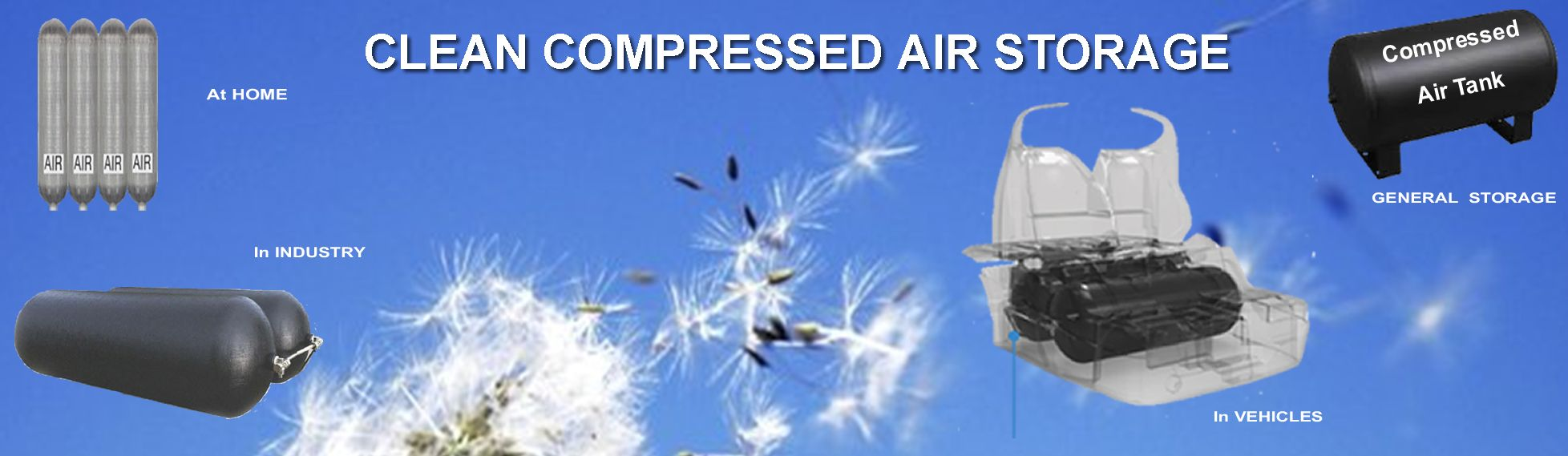 Clean Compressed Air Stoarage